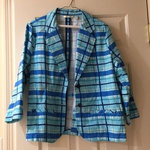 NEW WITHOUT TAGS Liz Claiborne Blue Blazer